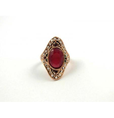 Ring Oriental Ruby Zirconia
