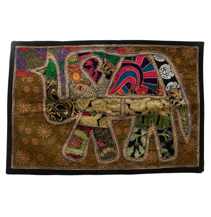 Overlay Patchwork Tapestries Wall Hanging