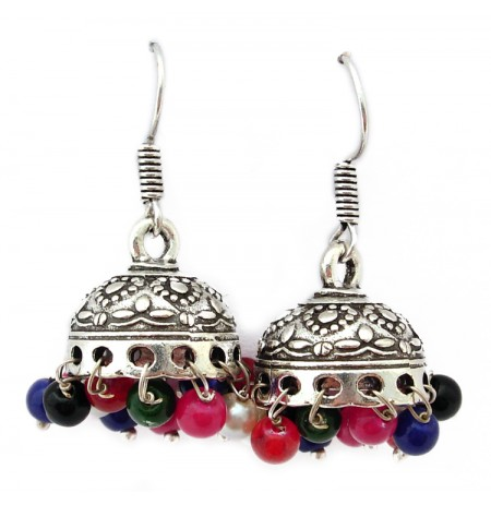 German Silver Artificial Earrings