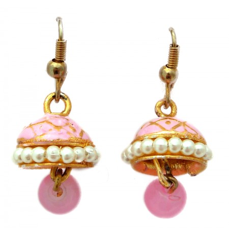 Oriental Earrings Multicolored Picture