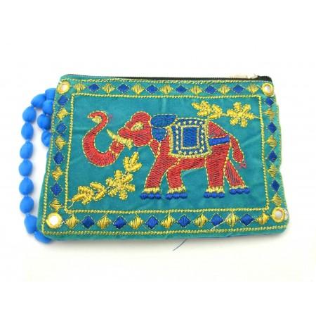 Handbag Cosmetic Handmade Elephant