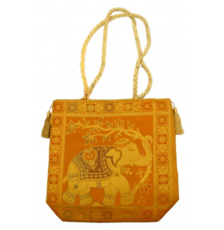 Bag Elephant India Silk