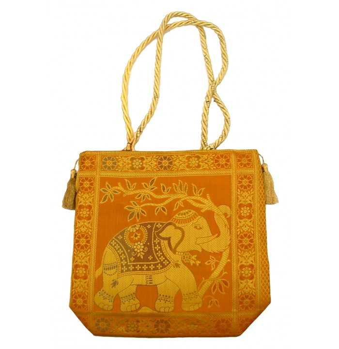 Bag Elephant India Silk